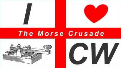 Morse Crusade Logo