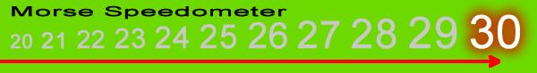 Morse Speedometer